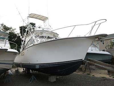 2001 Albemarle 305 Express Fisherman fishing boat Clean Title Project Low Reserv
