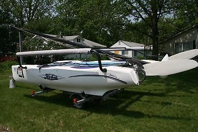2004 Hobiecat Wave Sailboat  $3900