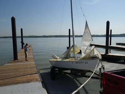 "1987 Minnesota ""Y"" 19 ft Sailboat"