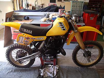 Yamaha : YZ Yamaha yz 490 1983