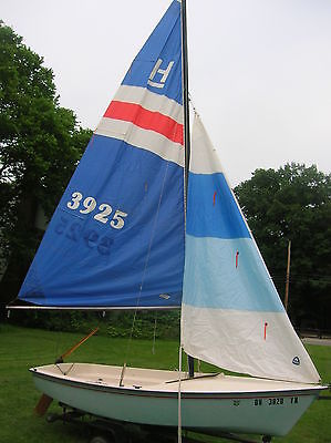 1984 HOBIE CAT 14' HOLDER DAYSAILER TRAILER IN OHIO