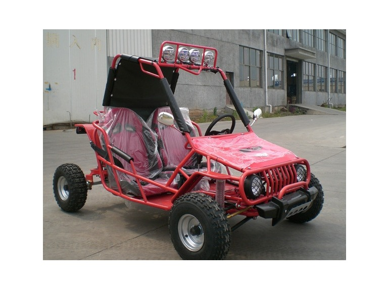 2014 Power Kart 110cc Wrangler Go Cart ON SALE from SaferWholesale