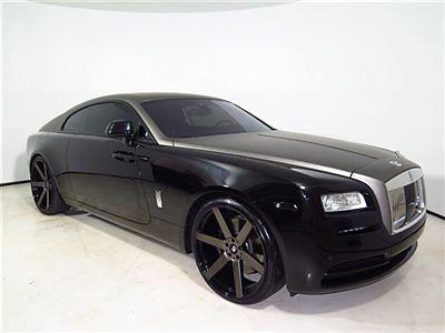 Rolls-Royce : Other 2dr Coupe 2015 rolls royce wraith custom wheels starlight headliner custom wrap 2014