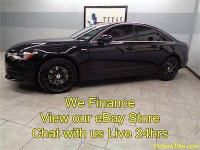 Audi : A6 3.0T Prestige 12 a 6 awd 3.0 supercharged heated seats gps navi camera we finance texas