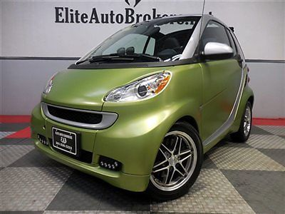 Smart : Fortwo 2dr Cabriolet Passion 2012 smart cabriolet passion 12 k navigation brabus wheels clean carfax