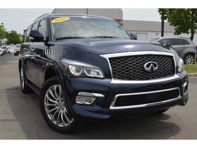 Infiniti : Other QX80 4WD 2015 new infiniti qx 80 4 wd demo drivers assist navigation tow package 22 wheels