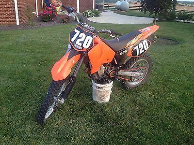KTM : EXC 2001 ktm 520