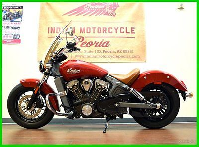 Indian : Scout® 2015 indian scout indian red cruiser 69 ci used