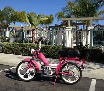 Vintage Custom Barbie Moped