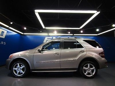 Mercedes-Benz : M-Class ML550 Mercedes-Benz ML550 4-Matic Premium 1 Sport Sunroof Navigation Cam $47kMSRP!