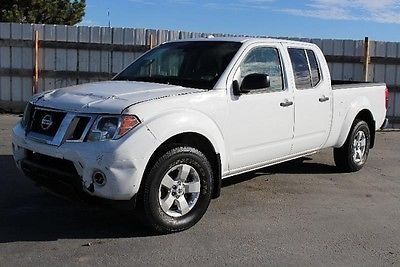 Nissan : Frontier SV 4WD 2012 nissan frontier sv 4 wd repairable wrecked damaged fixer project clean title