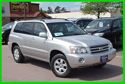 Toyota : Highlander 4DR 4WD V6 AT 2002 4 dr 4 wd v 6 at used 3 l v 6 24 v automatic awd suv