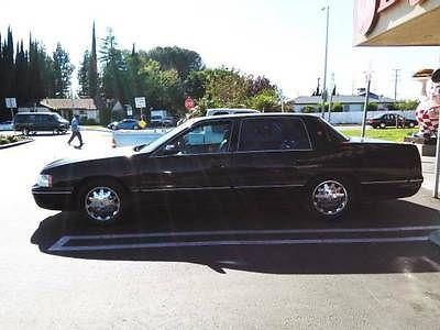 Cadillac : DeVille Deville Concours 1999 black on black cadillac deville concours sedan rare color combination