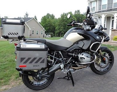 BMW : R-Series loaded black bmw r1200gsa