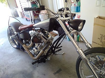 Custom Built Motorcycles : Chopper 2009 custom buily prostreet chopper motorcycle s s mikuni avon xtreme frame