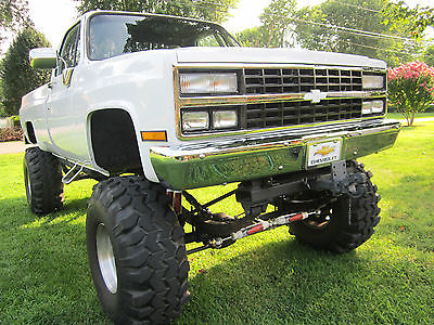 Chevrolet : C/K Pickup 2500 K20 HD 2500 Silverado 4x4 1975 chevy 4 x 4 crate engine ho 350 cold air lifted 39 swampers 4.88 posi t 400