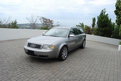Audi : S6 S6 QUATTRO 2002 california one owner audi s 6 avant sports wagon 4 door v 8 4.2 l quattro