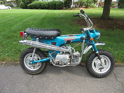 Honda : CT 1971 honda ct 70 mini trail one owner 920 original miles super nice look title