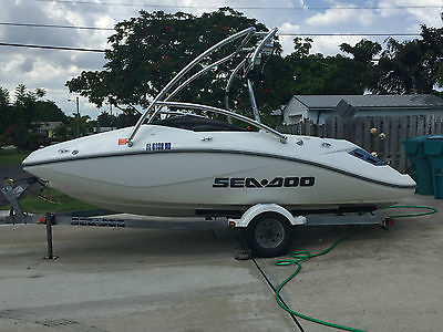 2006 Sea Doo Challenger 180 w/ Wake Tower and Speakers