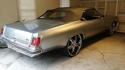 Oldsmobile : Other Royale Convertible 2-Door 1975 oldsmobile delta 88 royale convertible 2 door 7.5 l