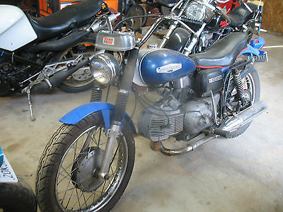 Harley-Davidson : Other HARLEY DAVIDSON SS 350 SPRINT 1969 OLDER RESTORATION GREAT RUNNER