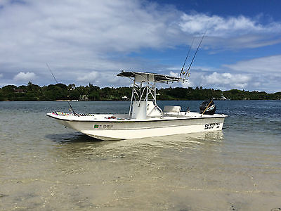 21 CAROLINA SKIFF 21 DLX EXTRACLEAN TURN KEY READY RIGGED FOR OFFSHORE/INSHORE