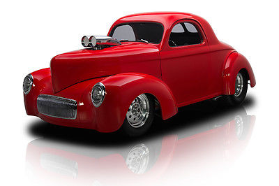 Willys : Coupe Frame Off Built Willys Outlaw Coupe Supercharged Dual Quad 383 4 Speed