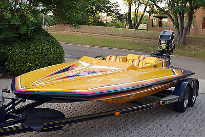 1990 Hydrostream Custom HST Boat Over 100 MPH Wickedly Fast!