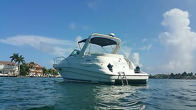 2001 Doral 300 se cabin   cruiser ////like searay sea ray /twin i/o
