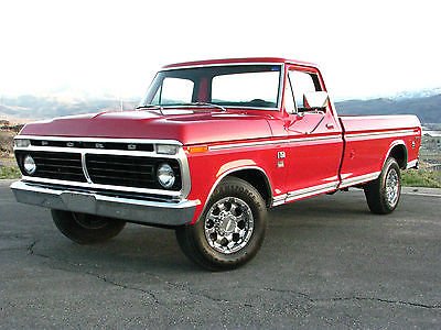 1973 ford f350 camper special