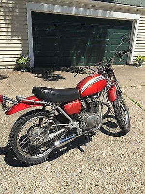 Honda : Other 1971 honda sl 350 low miles neat bike