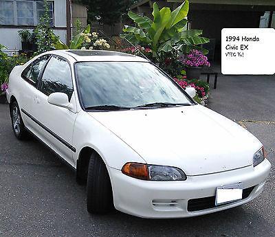 Honda : Civic EX Coupe 2-Door 1994 honda civic ex coupe 2 door 1.6 l vtec