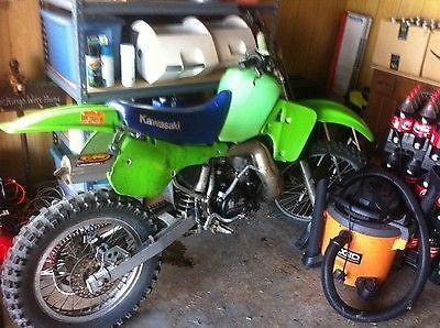 Kawasaki : KX 1987 kx 500