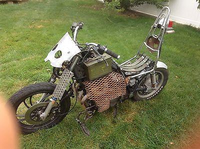 Custom Built Motorcycles : Bobber 1982 yamaha seca mad max bobber rat bike custom