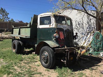 Other Makes : Autocar U-2044 4x4 COE Original WWII 1941 Autocar U-2044 2.5 Ton 4x4 COE Dump Truck Rat Rod Cab Over