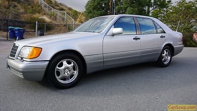 Mercedes-Benz : S-Class 4dr Sdn 4.2L 95 mercedes benz s 420 w 140 clean california package s 500 saloon big body