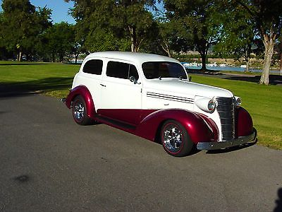 Chevrolet : Other Master Deluxe 1938 cevrolet master 2 dr sedan custom leather interior ac heat