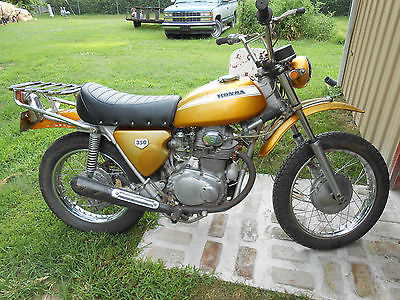 Honda : Other Honda SL350 SL 350 - 1970  Nice Bike for the Age  VINTAGE