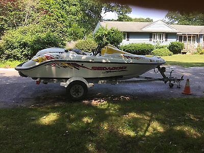 1997 Seadoo Speedster Jet Boat Excellent condition. With trailer