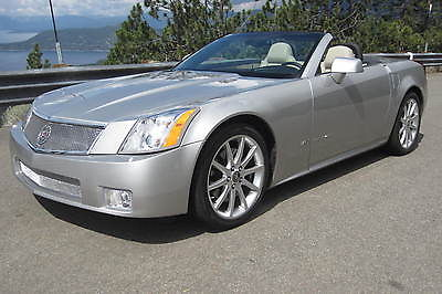 Cadillac : XLR V 2006 cadillac xlr v collector owned w only 7629 miles as new light platinum