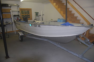 14' Starcraft fishing boat (2004), with 4-stroke 15 hp Mercury outboard (2006)