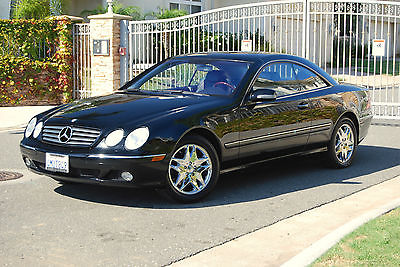 Mercedes-Benz : CL-Class . 2000 mercedes cl 500 rare sunroof only 82 k miles excellent throughout