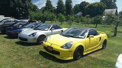 Toyota : MR2 Conv Low mileage, award winning MR2 spyder, no winters - very clean.