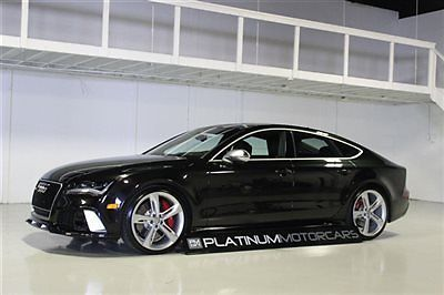 Audi : Other 4dr Hatchback Prestige 2014 audi rs 7 band olufsen sound sport exhaust 21 wheels loaded