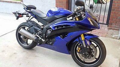 Yamaha : YZF-R 2012 yamaha yzf r 6 c team yamaha sport street motorcycle bike yzf r 6 8300 miles