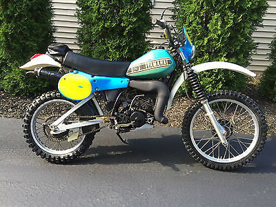 Vintage Yamaha Enduro
