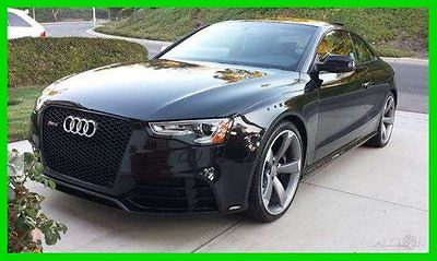 Audi : Other RS 5 with Warranty 2014 audi rs 5 quatrro 4.2 4.2 l v 8 32 v automatic awd navigation plus loaded