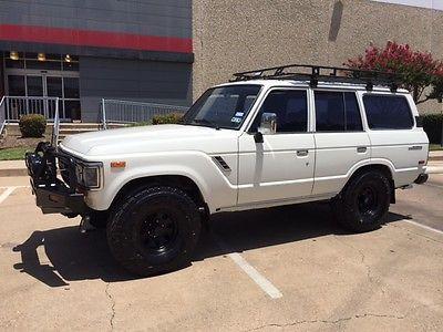 Toyota : Land Cruiser Land Cruiser FJ62 1988 toyota land cruiser fj 62 restore roof rack new wheels tires arb bumper