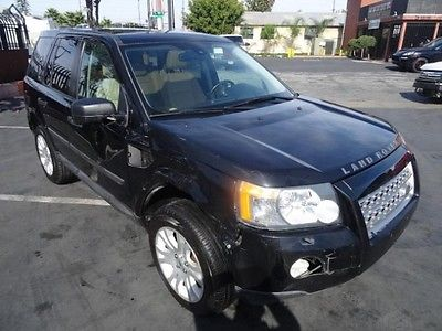 Land Rover : LR2 AWD SE 2008 land rover lr 2 awd se repairable salvage wrecked damaged fixable rebuilder