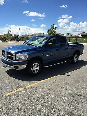 Dodge : Ram 1500 SLT Extended Crew Cab Pickup 4-Door Dodge : Ram 1500 2006 4X4 Hemi 5.7 Liter